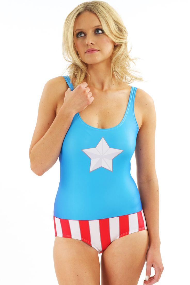 Captain America Human Potential Swim $85 AUD