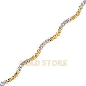 14 Ayar Altın Taşsız Bileklik GB21055