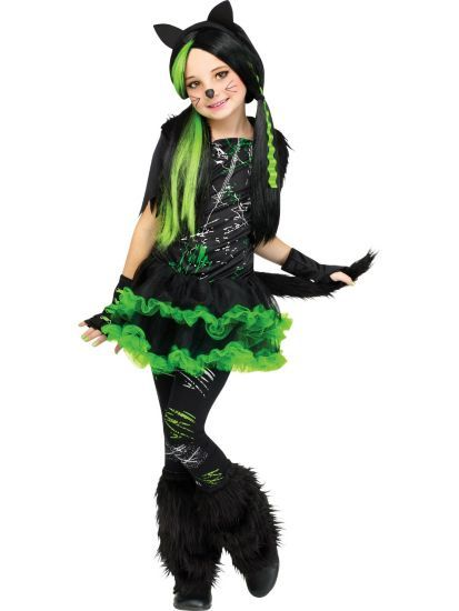 Girl's Kool Kat Costume | Cats Costumes