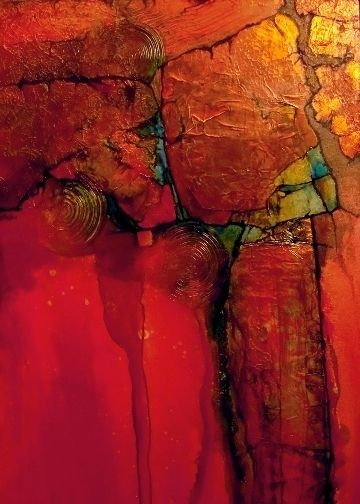 """CAROL NELSON FINE ART BLOG: Colorful Contemporary Abstract Art,Small Art """"Anazi-Mini"""" by Colorado Mixed Media Abstract Artist Carol Nelson Be Sure To Visit: http://universalthroughput.imobileappsys.com/"""