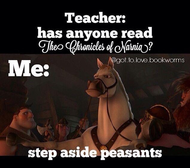 Step aside peasants!