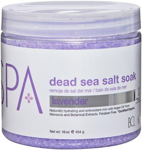 Bio Creative Lab Spa Dead Sea Soak, Lavender, 16 Ounce by Bio Creative Lab. $26.45. Promotes healing for the skin. Soothes and calms stressful mind, life and body. Alleviates anxiety and sleep disorders. Trouble sleeping calming, soothing, and relaxing, lavender is one of nature's most restorative botanical essentials. Use to heal burns, insect bites, and stings, the lavender herb is incredibly healing to the skin. For centuries, lavender has been traditionally...