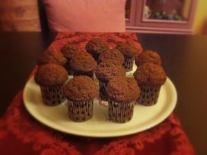 Mini muffin banana e noci