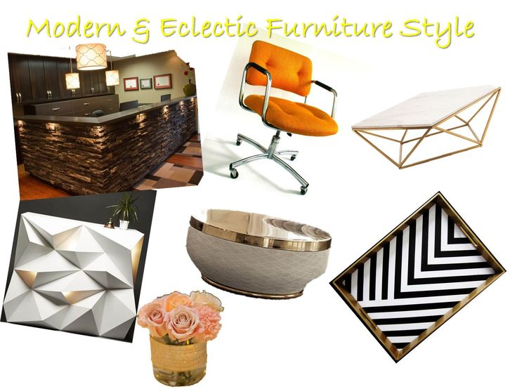 Eclectic furniture