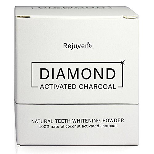 From 10.49:Activated Charcoal Teeth Whitening Powder For Removing Stains And Maintain Healthy Gums Premium Grade By Rejuven8