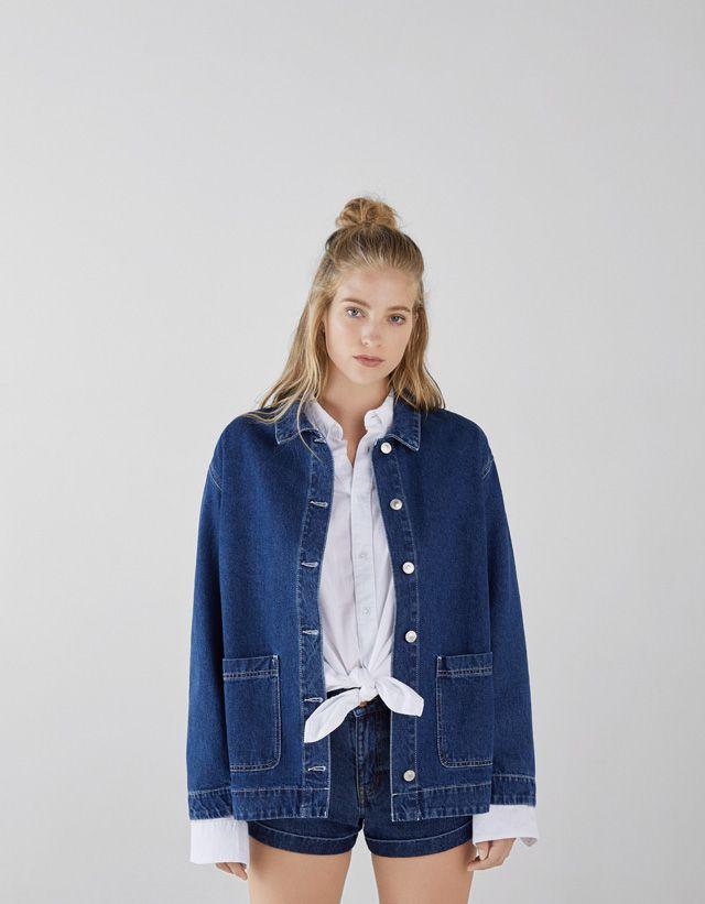 925240ba26 Jackets - SALE - WOMEN - Bershka Tunisia   outfit in 2019   Jackets ...