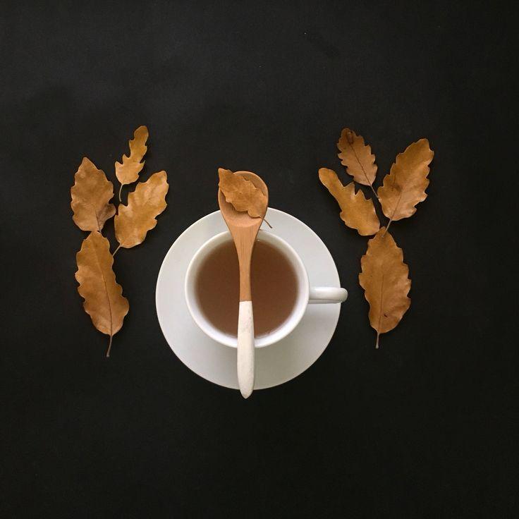Tea and leaves