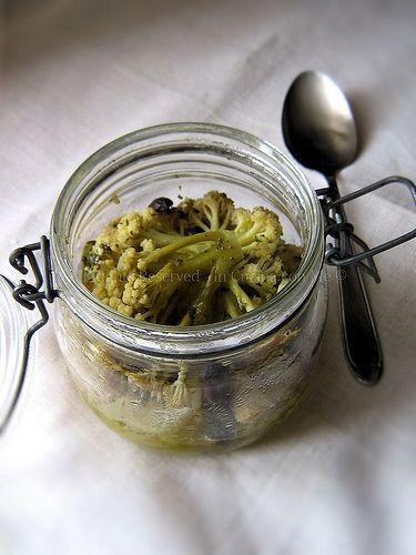 Verdure nel barattolo cotte a vapore