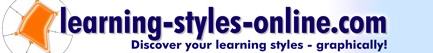 Free learning styles inventory, including graphical results - excellent site.  You can even see how your learning style changes over the years.