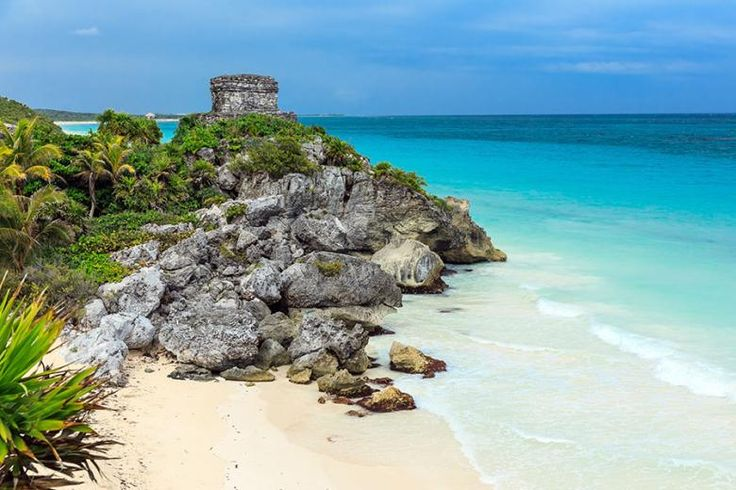 Travel down the coast to discover the ancient ruins of Tulum