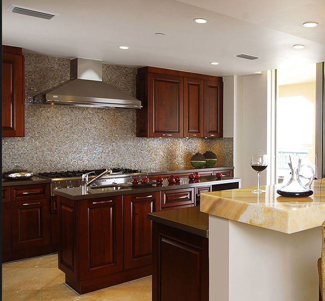 Mejores 39 imágenes de kitchens with stained cabinets en Pinterest ...