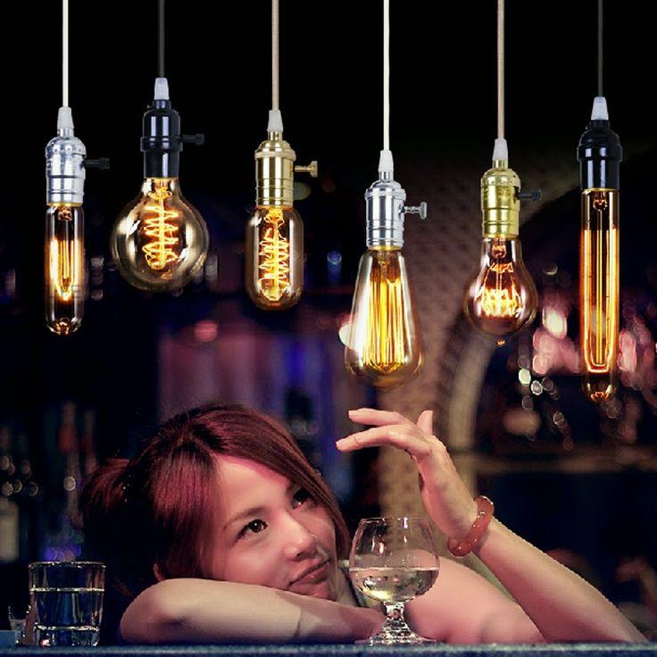 Cidade Led - Novas idéias para iluminação: Iluminação decorativa com lâmpadas vintage
