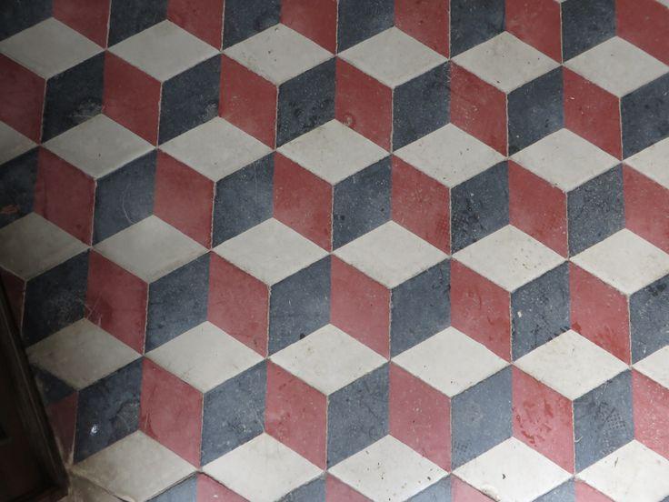 Motif g om trique carrelage inspiration graphisme - Carrelage motif geometrique ...