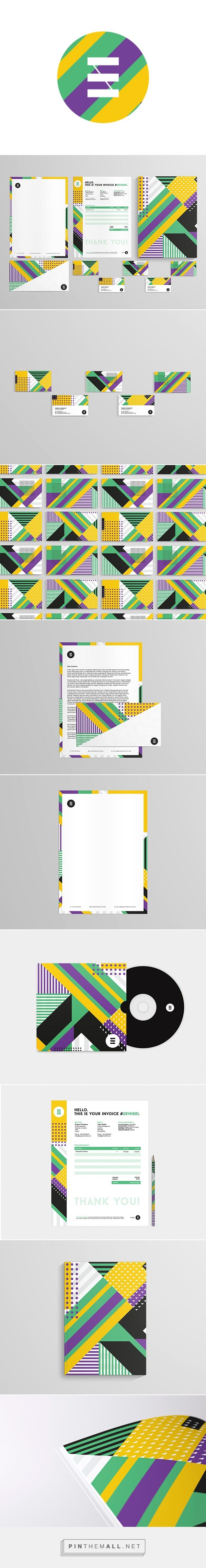 EVGENI | Identity Design on Behance / Self promotion... - a grouped images picture - Pin Them All