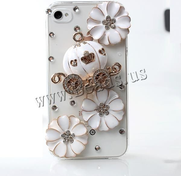 Customized Mobile Phone Cases, Plastic, with Zinc Alloy
