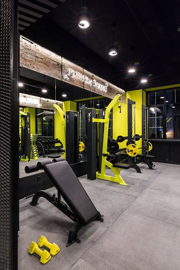 Trx box bar on interior design served interior for Home gym interior design