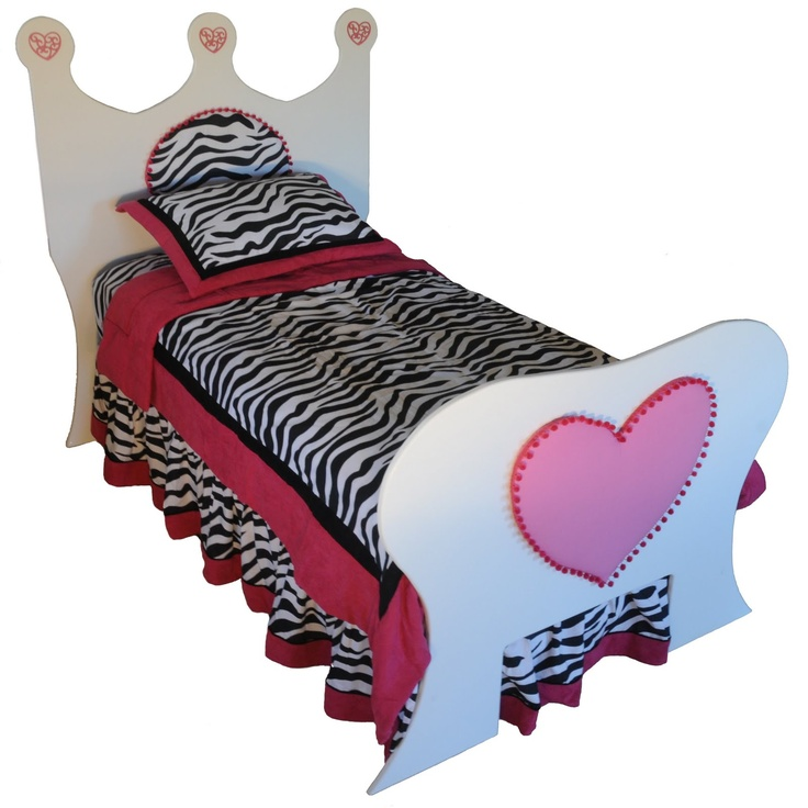 This beauty is the Zebra bed and its eye candy for young girls who adore Zebra print material.  sc 1 st  Pinterest & 38 best One of a kind Canopy Beds images on Pinterest | 3/4 beds ...