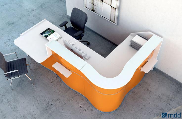 #Banques-d'accueil - wave | #MDD | mobilier de bureau | #meubles de bureau | meubles de bureau