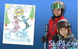 Ski PA - Discounted Ski/Board Lesson and Lift Pass Program for 4th and 5th Graders