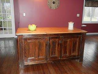 Kitchen Island # DIY Kitchen Island # Before and After # DIY Furniture
