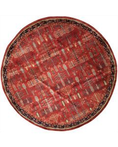 Persian Round Area Rug 63674