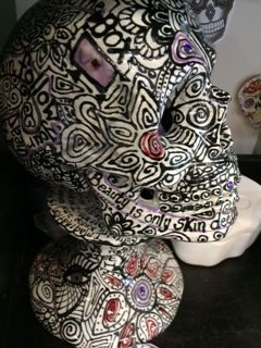"""17 best Pottery Painting """"Cancer Awareness"""" Ideas images on"""