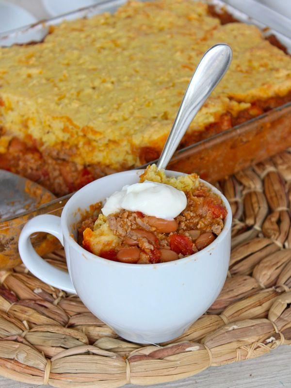 Chili Cornbread Casserole | Recipe | Chili Cornbread Casserole ...