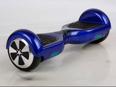 Blue Hoverboard 2 Wheel Scooter