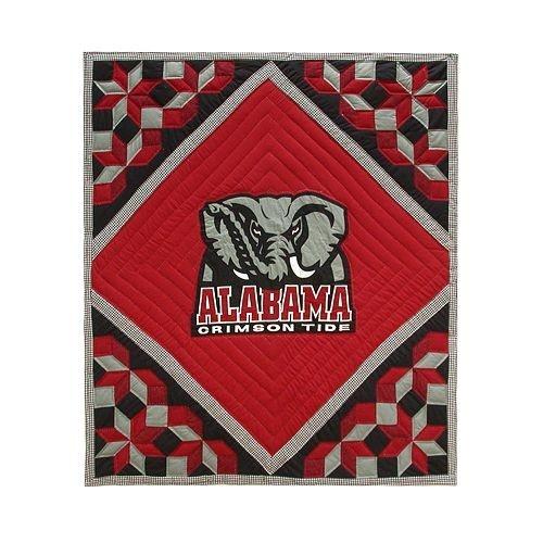 Alabama Crimson Tide Patchwork Quilt