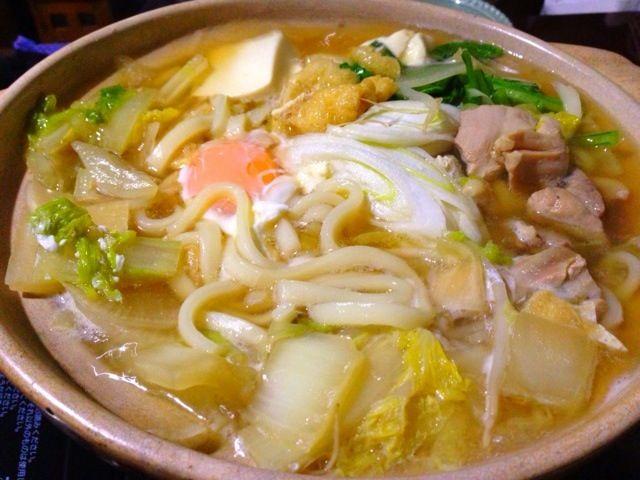 昨夜の晩御飯です煮込んだだけの超手抜きでした - 14件のもぐもぐ - 煮込みうどん by tabajun