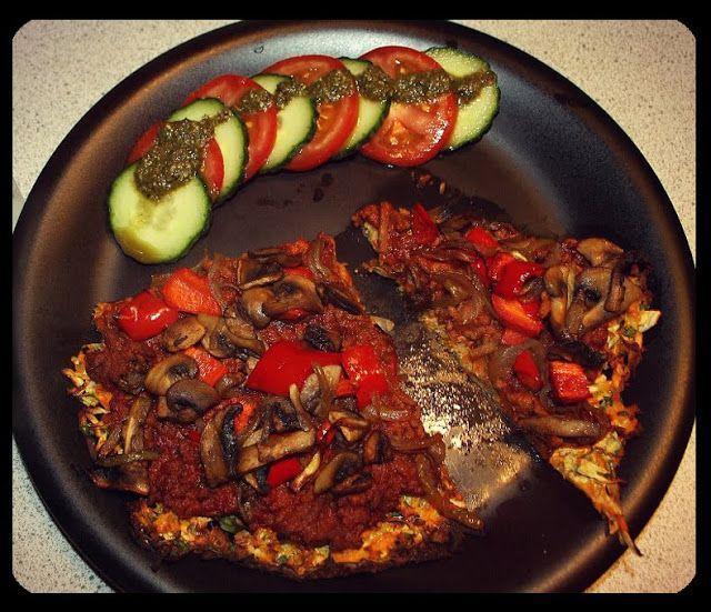 Rootza med Hk. Oksekød, Champignon og Peberfrugt