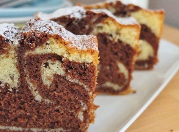 Receita de bolo mármore - Receita do Dia