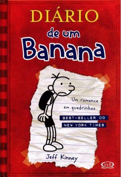 Foto principal do produto Diário de um Banana: Um Romance em Quadrinhos - Vol. 1
