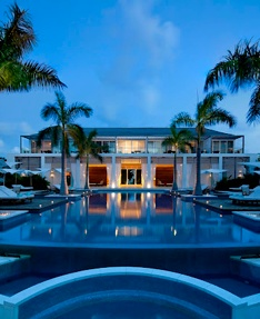 GANSEVOORT TURKS AND CAICOS--Experience the urban sophistication that the Gansevoort is known for at the provocative but laid back island outpost Stelle Restaurant, or at the Beach Bar + Grill. Lazy days roll into easy nights with a starlit stroll to Stelle for an intimate gourmet dinner by the pool under the palms, or in the indoor dining area. Enjoy after dinner beach bonfires and live island music. A full breakfast buffet is served complimentary each day.