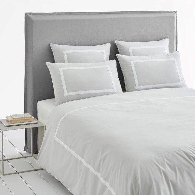 Othoza Monochrome Organic Cotton Percale Duvet Cover Duvet