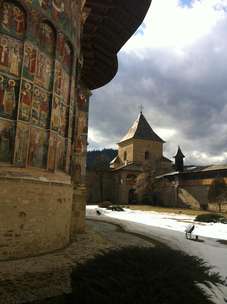 Sucevita Monastery// Suceava// early spring