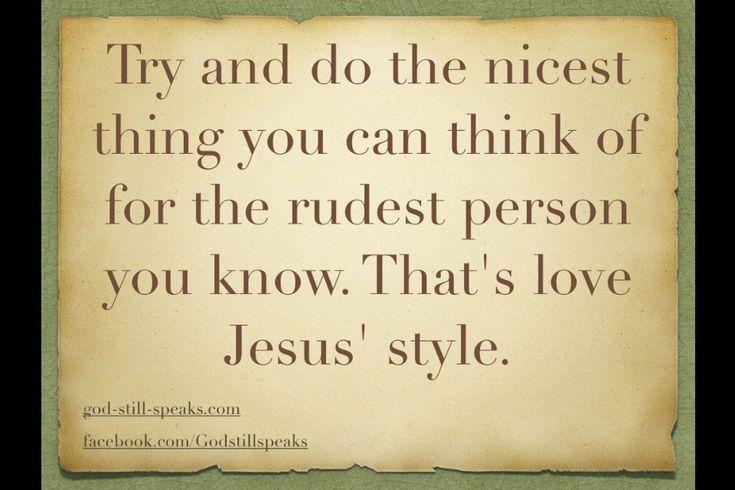Jesus Style