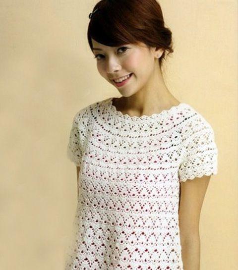 3 summer sweater crochet patterns | free charts