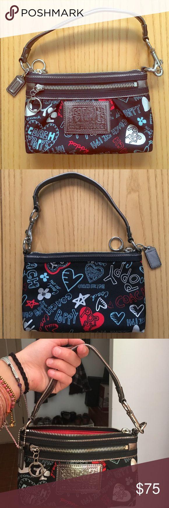 Mini Coach Poppy Purse Never used mini Coach Poppy designer purse Coach Bags Mini Bags