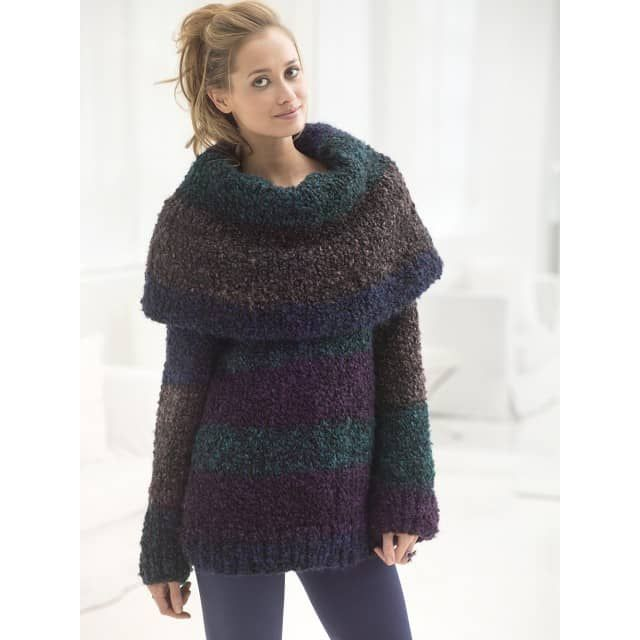 3626a8fb12d9 Cozy Cowl Pullover (Knit) - Lion Brand Yarn