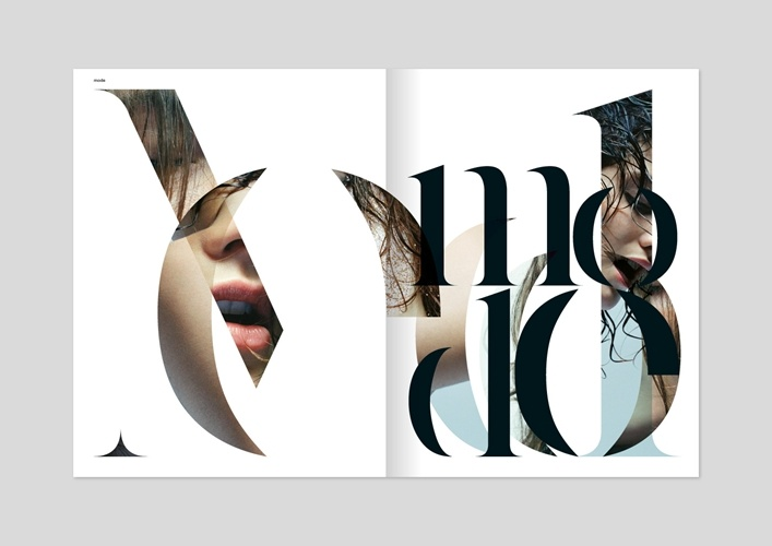Editorial - homework graphic design typography