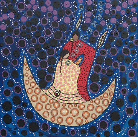 5 La mujer Sol es una mujer guerrera, es madre que amamanta a sus hijos, les da el alimento y los sostiene para que caminen con fuerza por la vida. Ella es una mujer fuerte que libra todas las batallas en defensa de la paz y el bienestar de su familia y de su comunidad. Pone orden en su hogar y todo lo embellece.
