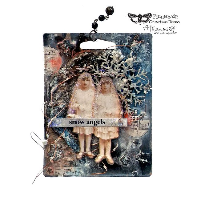 Me and myself...: Snow Angels - Finnabair Art Recipe