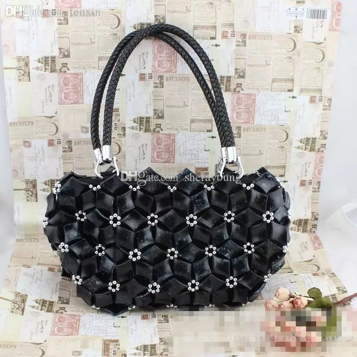 2017 Wholesale Hand Made Beaded Womens Fashion Designer Shoulder Bags Beads Art Work Great Birthday Gifts For Wife From Christiani, $99.51 | Dhgate.Com