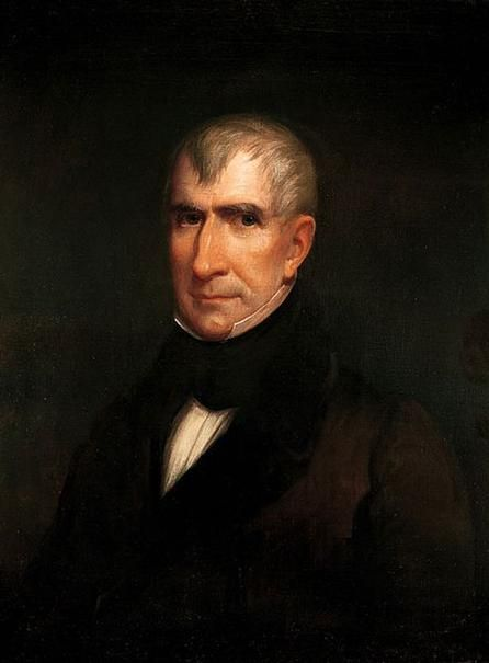 Official White House Portrait of William Henry Harrison - 9th President of the United States