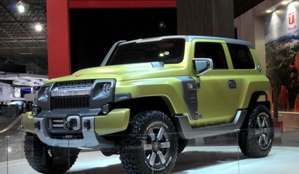 Ford Troller Tr X Concept Is Ford S Version Of Jeep