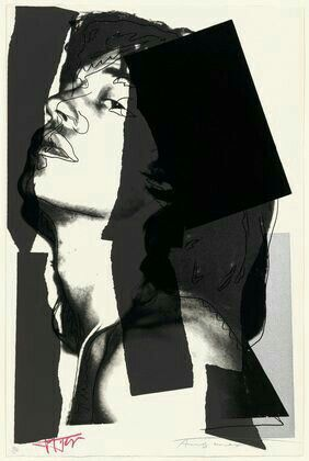 Andy Warhol ( Artist ), Mick Jagger , 1975