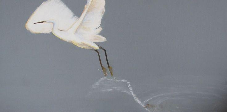 Egret takes flight - CeliaJ