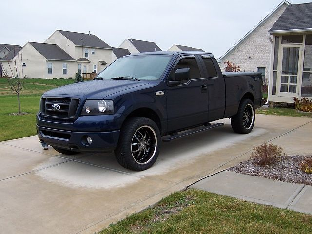 Ford F-150 Black Truck Rims Find the Classic Rims of Your Dreams - www.allcarwheels.com