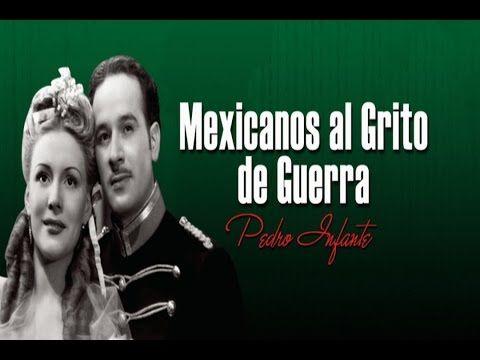 """Mexicanos al Grito  de Guerra"" (con Pedro Infante) [English subTitled] ◘ Pelicula▶"